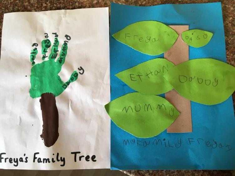 St marys family tree